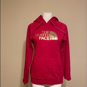 Brand New Cerise Pink North Face Hoodie